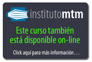 Curso también disponible on-line