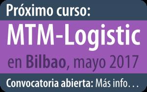 Próximo curso de MTM-Logistic en Bilbao, mayo 2017
