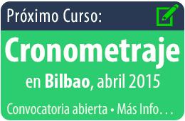 Curso de cronometraje en Bilbao, abril 2015