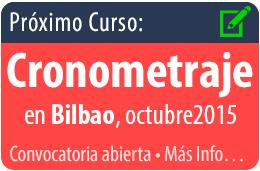 Curso cronometraje en Bilbao, octubre 2015